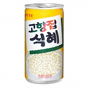 175ml 고향집식혜 (밥알있음)  (롯데)