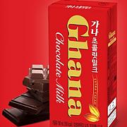 가나(밀크)초코렛(롯데)