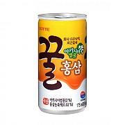 175ml 꿀홍삼캔(롯데)