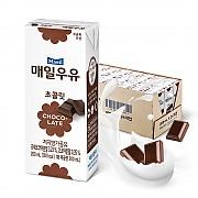 멸균우유(초코) 200ml (매일)-주문후 다음 배송발송 ★반품불가상품★