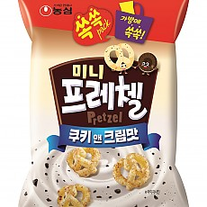 미니프레첼 쿠키앤크림(농심)